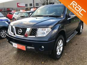 Nissan Navara King Cab Pick Up Sport 2.5dCi 169 4WD Pick Up Diesel Blue at Testers Autos Ipswich
